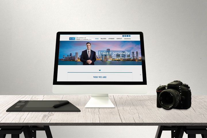 Law Office of Aaron A. Karger, P.A. | Responsive Web Design