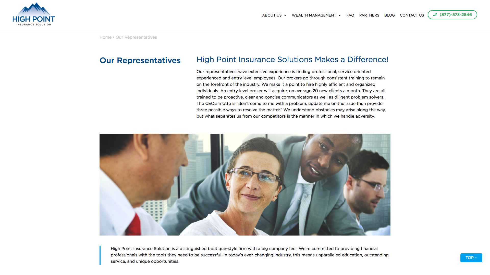 High Point Solution Web Design